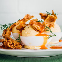 Turkey and the Wolf's Deviled Eggs