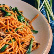 Yi Mein (Long Life Noodles)